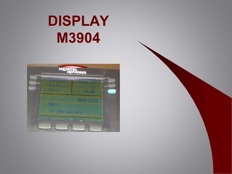 DISPLAY M3904