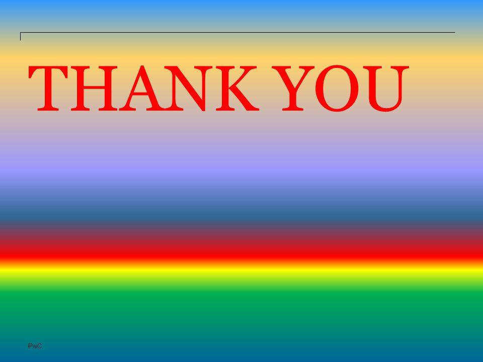 PwC THANK YOU