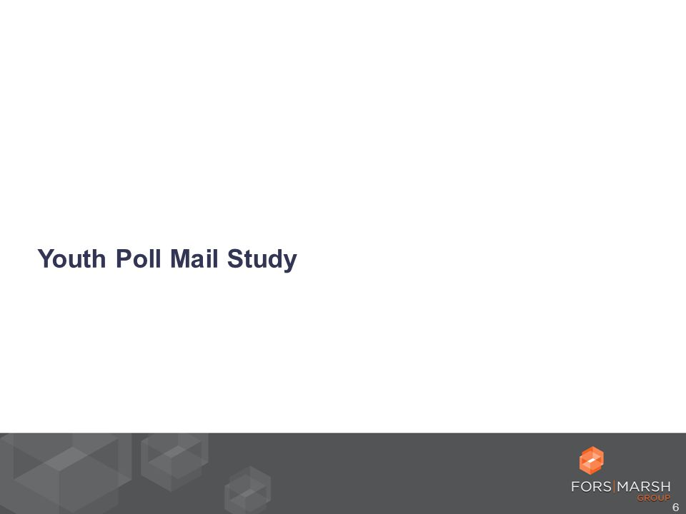 6 Youth Poll Mail Study
