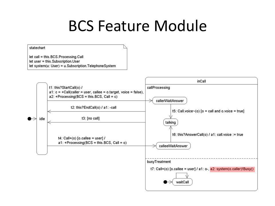 BCS Feature Module