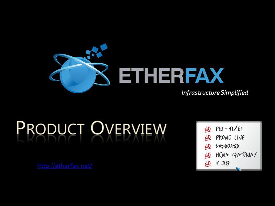 Infrastructure Simplified http://etherfax.net/