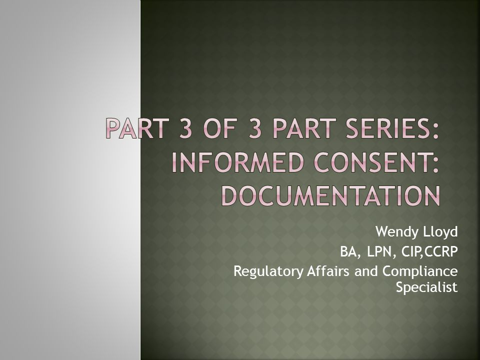 Date of re consent Subject reviewed consent Revisions verbally explained to the subject Subjects verbally agrees to continue participation Copy of revised consent given to subject