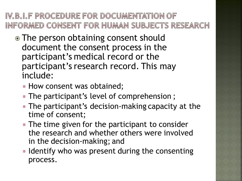 (c) An IRB may waive the requirement for the investigator to obtain a signed consent form for some or all subjects if it finds either: (1) That the only record linking the subject and the research would be the consent document and the principal risk would be potential harm resulting from a breach of confidentiality.
