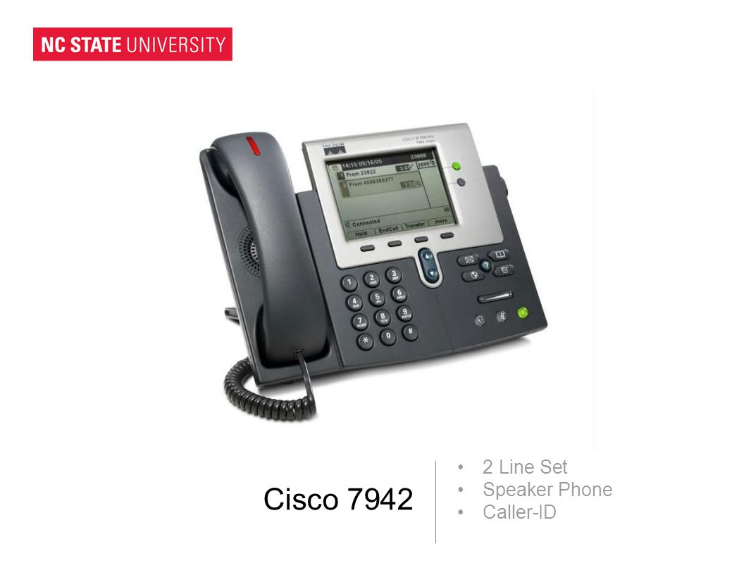 Cisco 7942 2 Line Set Speaker Phone Caller-ID