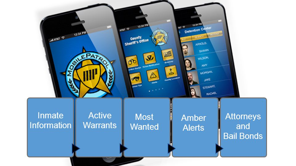 Inmate Information Attorneys and Bail Bonds Amber Alerts Most Wanted Active Warrants