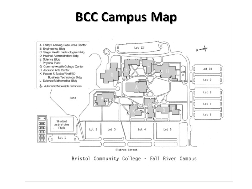 BCC Campus Map