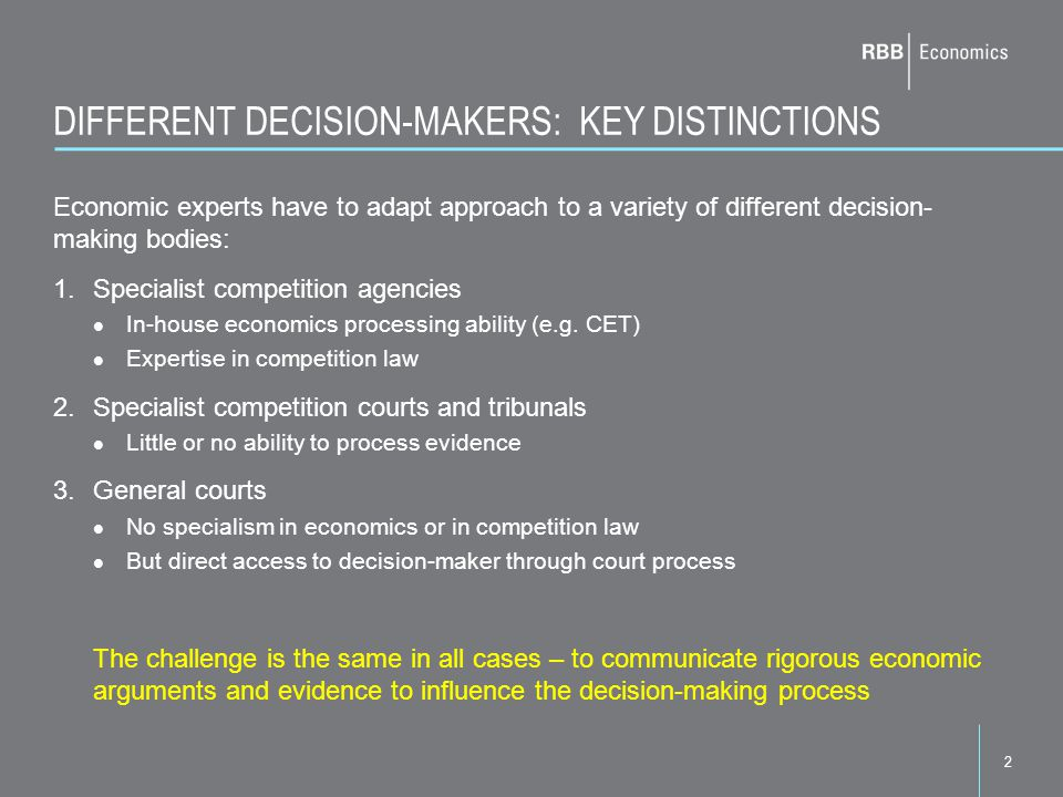 3 TOOLS AVAILABLE TO GENERAL COURTS AND TRIBUNALS Various tools are available to courts to overcome their lack of independent processing power, including: Written expert reports Enforced dialogue between opposing experts: Agreed statements of agreement/disagreement hot tub processes Court assessors and expert tribunal members Cross-examination Depends on ability of experts to communicate effectively, and of counsel to identify key issues But capable of synthesising opposing views