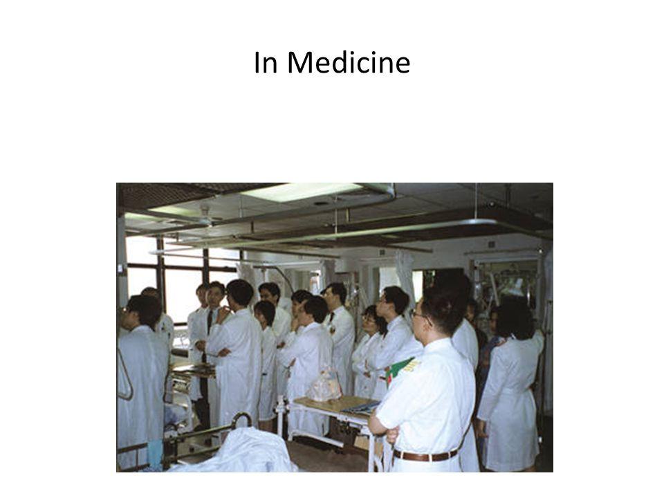 In Medicine
