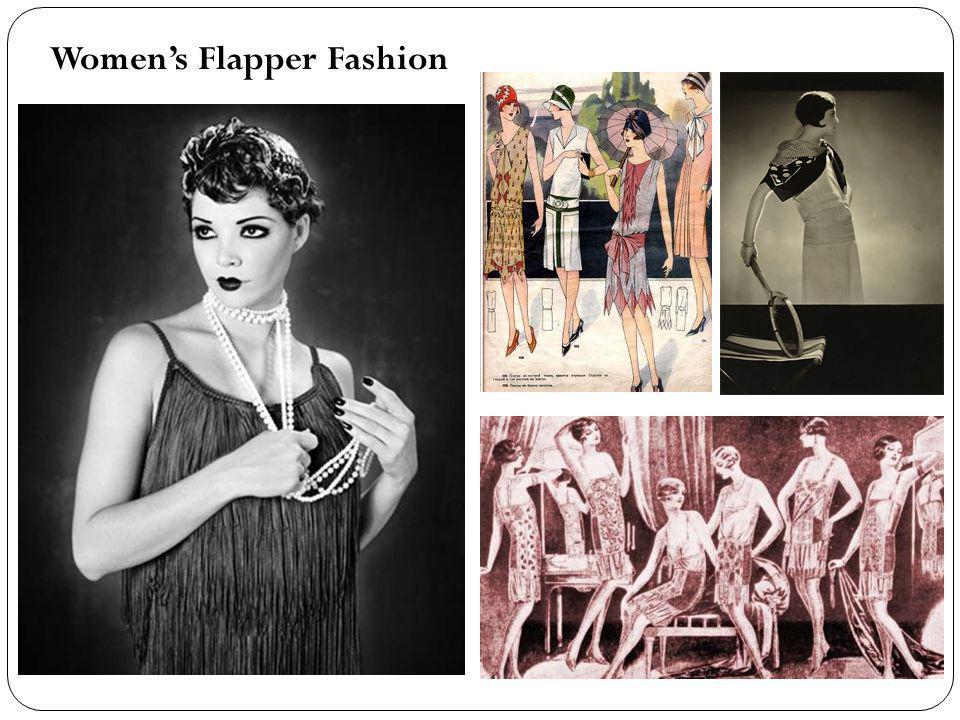 Womens Flapper Fashion