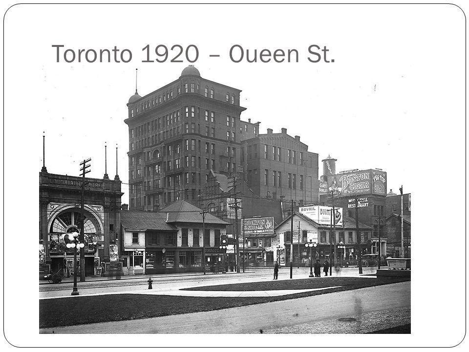 Toronto 1920 – Queen St.