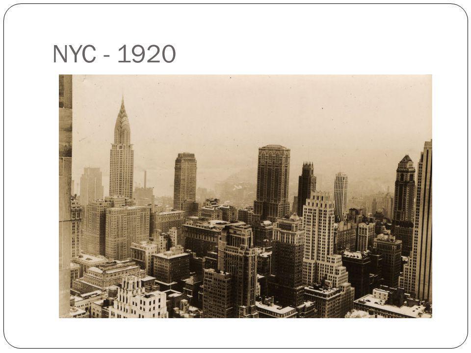 NYC - 1920