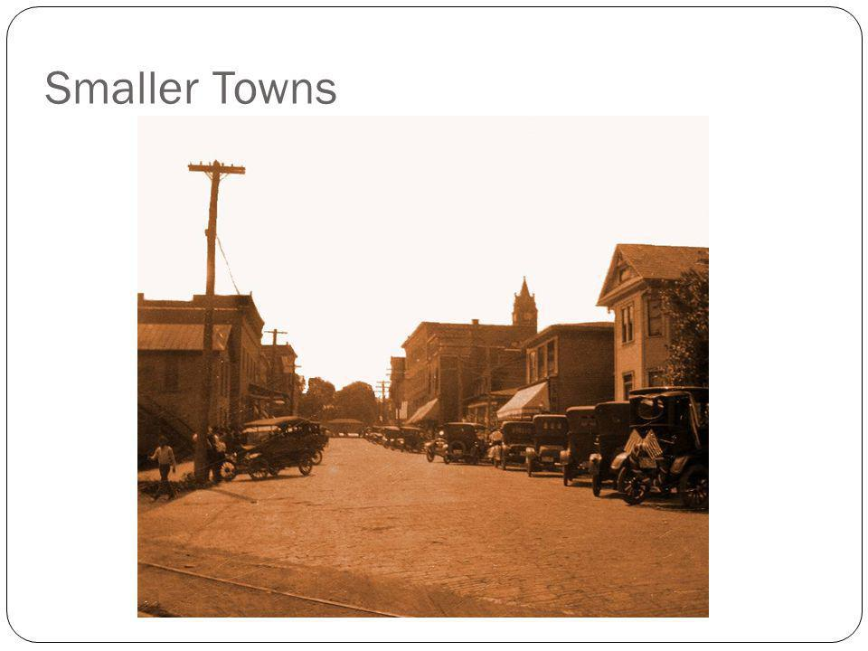 Smaller Towns