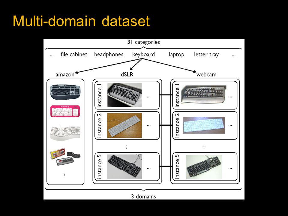 Multi-domain dataset