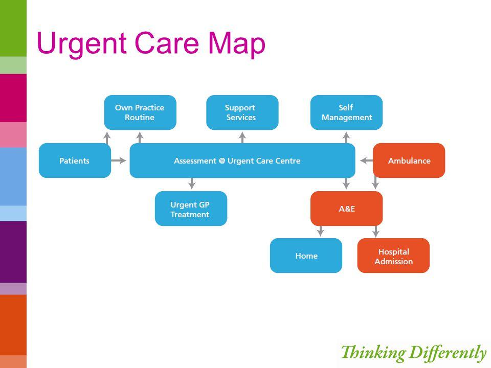 Urgent Care Map