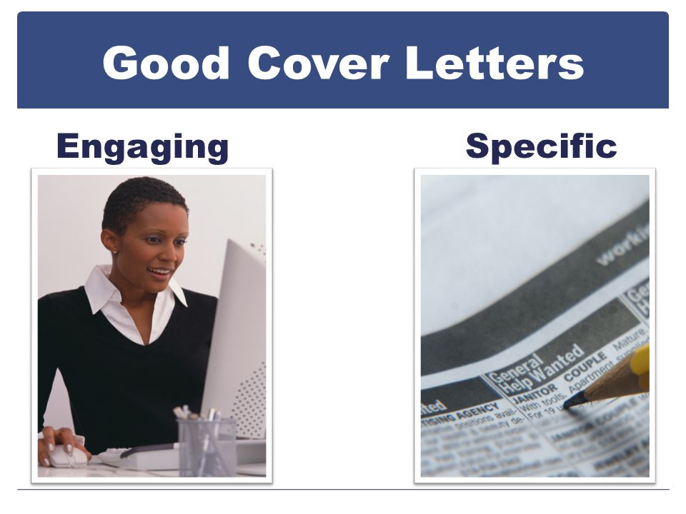 Good Cover Letters EngagingSpecific