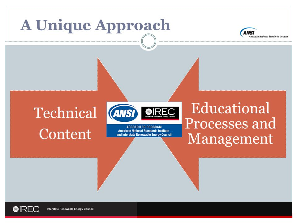 A Unique Approach Technical Content Educational Processes and Management