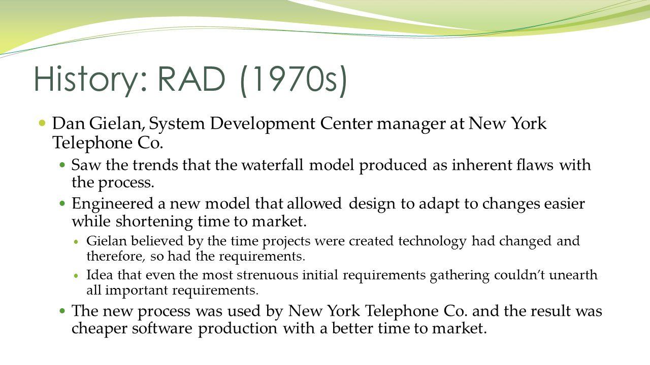 Dan Gielan, System Development Center manager at New York Telephone Co.
