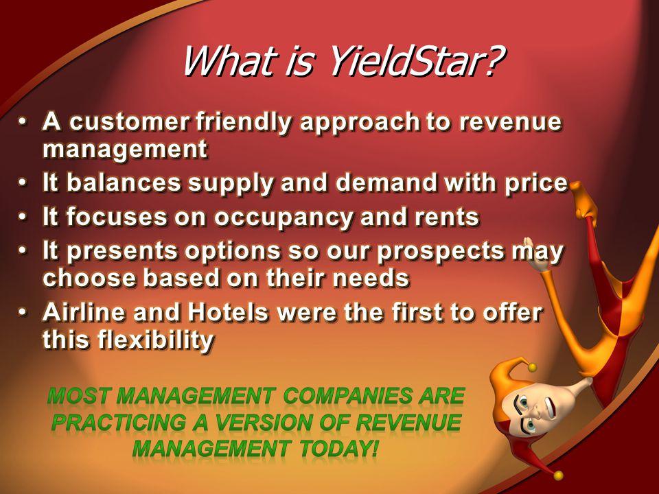 What is YieldStar?