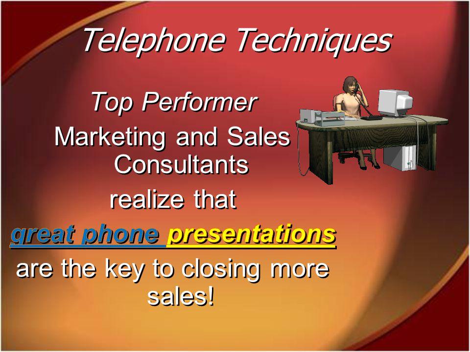 Telephone Techniques