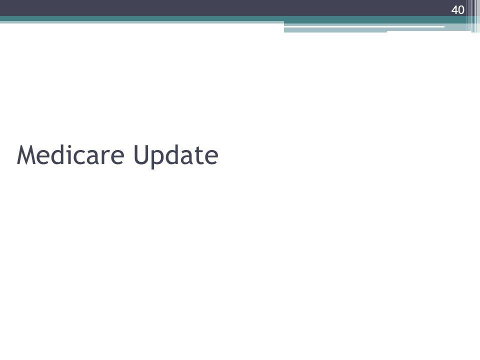 Medicare Update 40