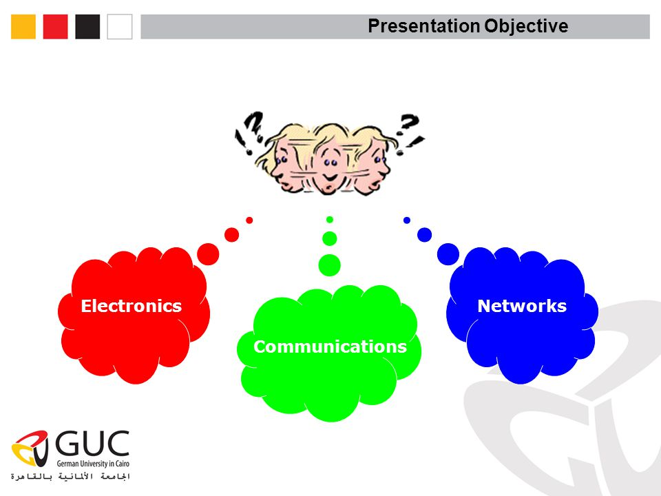 Presentation Objective Electronics Communications Networks