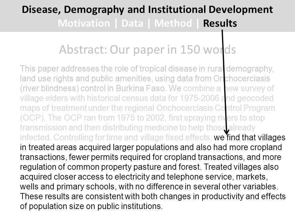 Do treated and control villages differ at baseline.