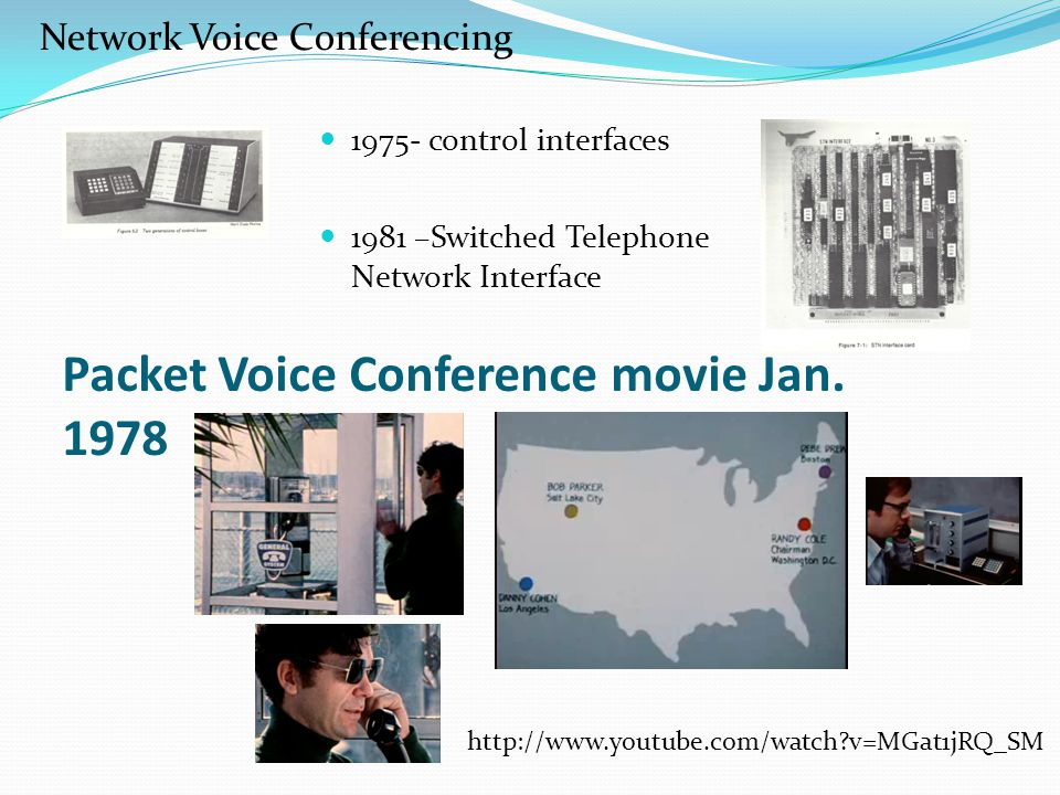 Packet Voice Conference movie Jan.
