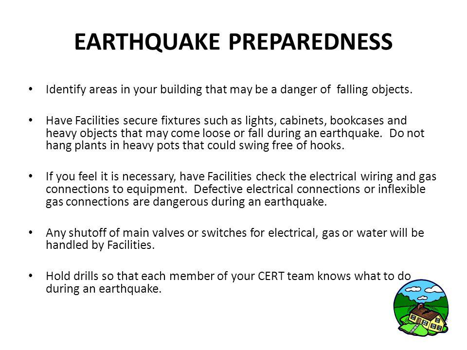 HAZMAT List Please review your buildings for Hazardous Materials.