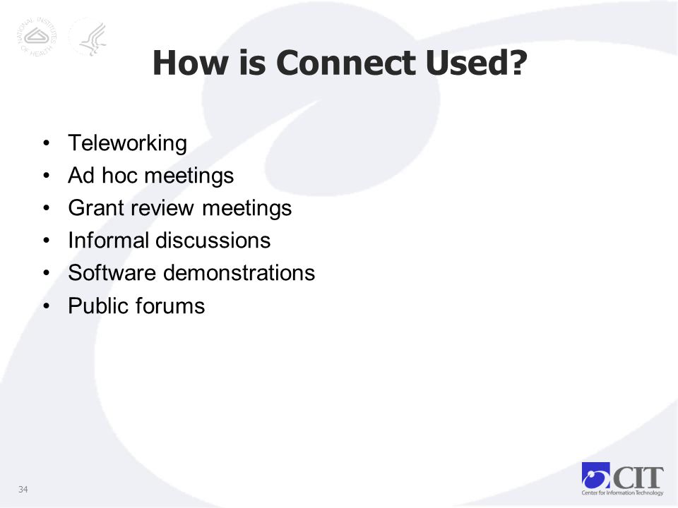 How is Connect Used.