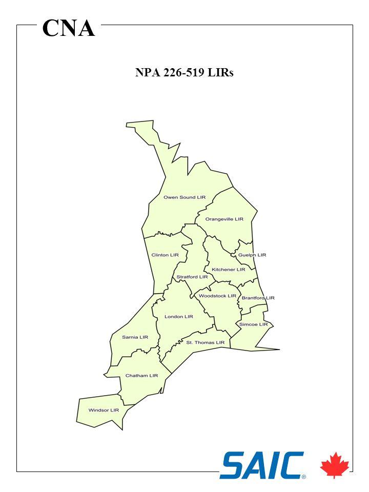 CNA NPA 226-519 LIRs
