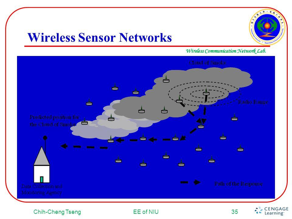 Wireless Communication Network Lab. Wireless Sensor Networks Chih-Cheng TsengEE of NIU35