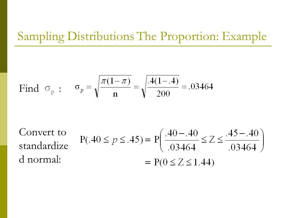 Find : Convert to standardize d normal: