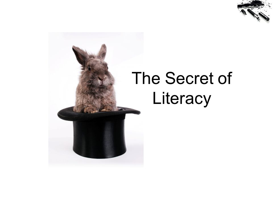 The Secret of Literacy