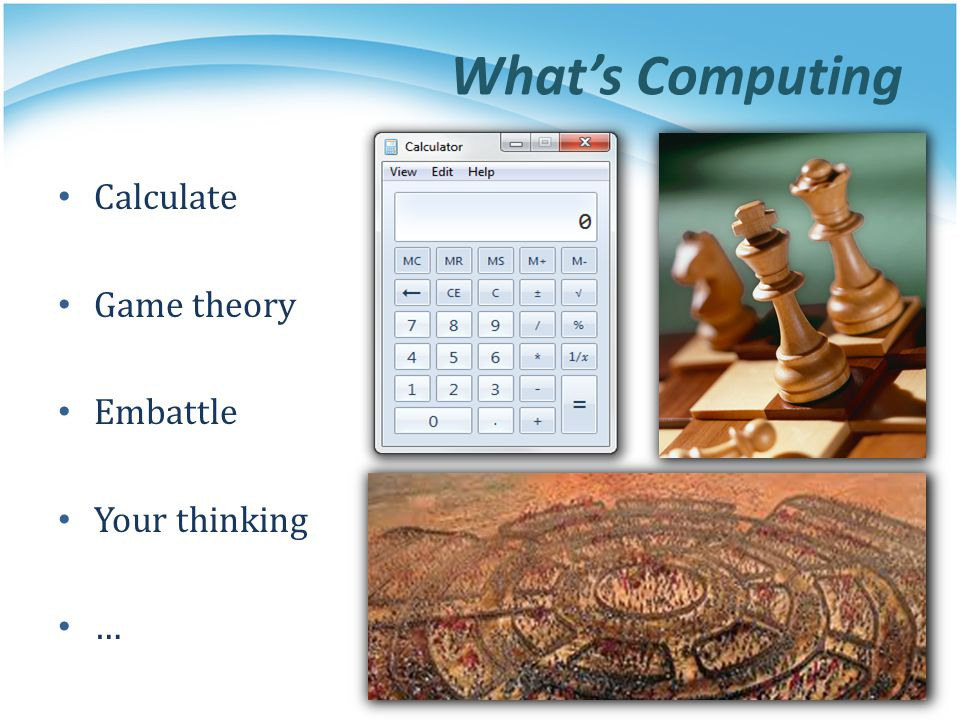Whats Computing Calculate Game theory Embattle Your thinking …