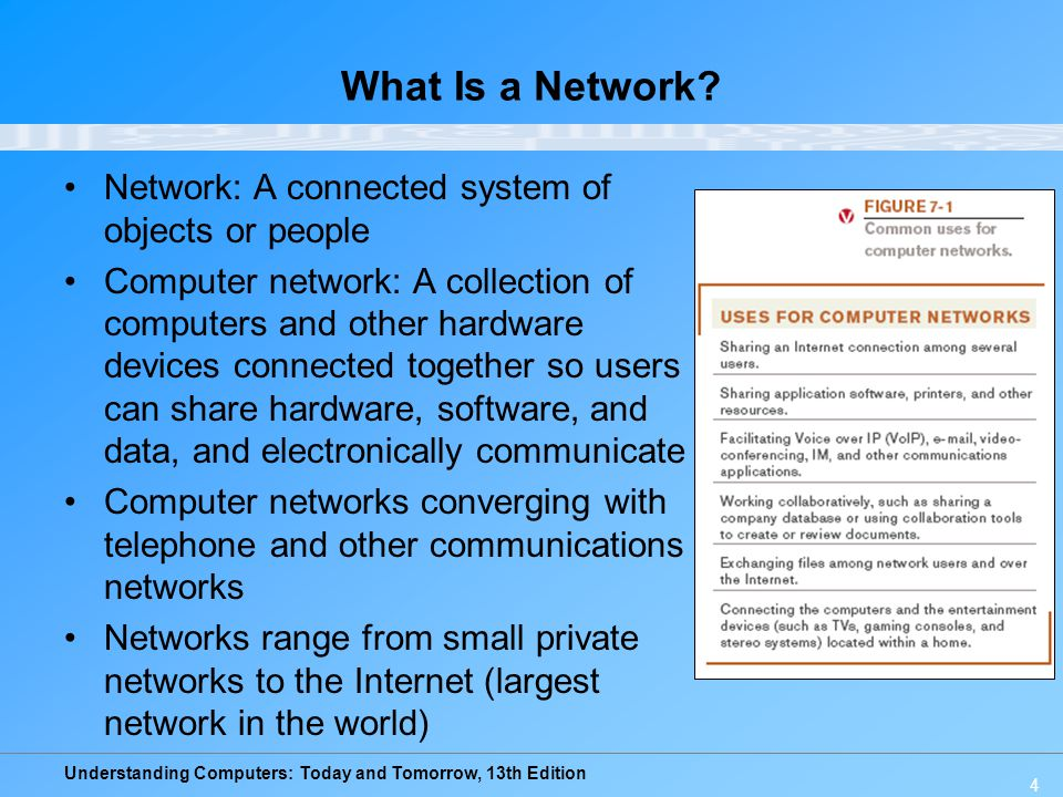 Understanding Computers: Today and Tomorrow, 13th Edition Network Characteristics Wired vs.