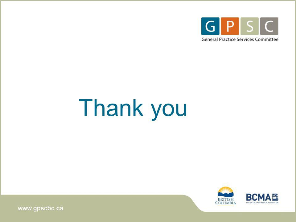 www.gpscbc.ca Thank you