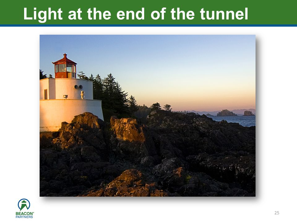 Heading – Ariel 40 25 Light at the end of the tunnel