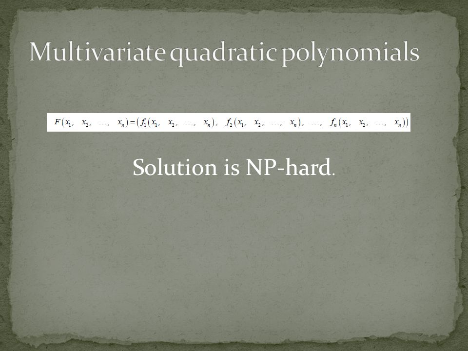 Solution is NP-hard.