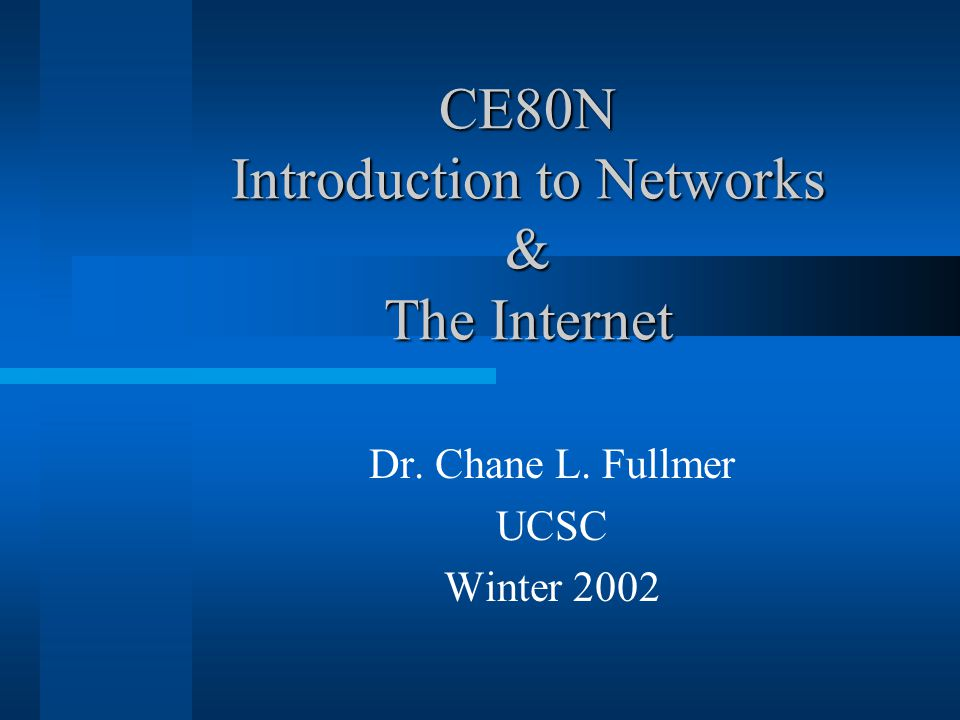 January 8, 2002CE80N -- Winter 2002 -- Lecture #242 Glossary Binary – Any number system that uses two values.
