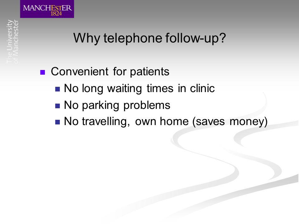 Why specialist nurses.