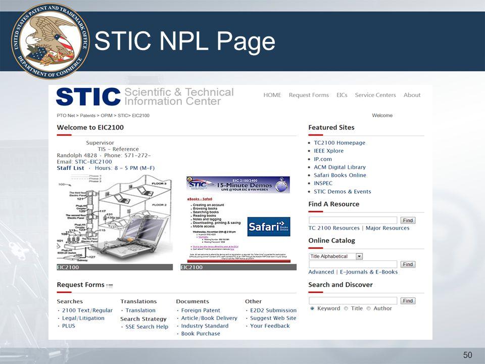 STIC NPL Page 50