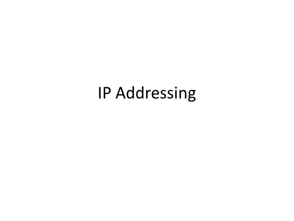 The concept of sub numbering(Local Area Network).