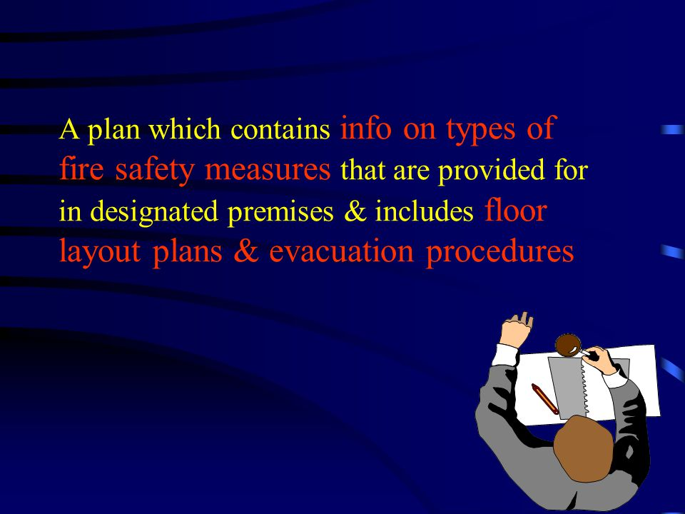What is a Fire Emergency Plan?
