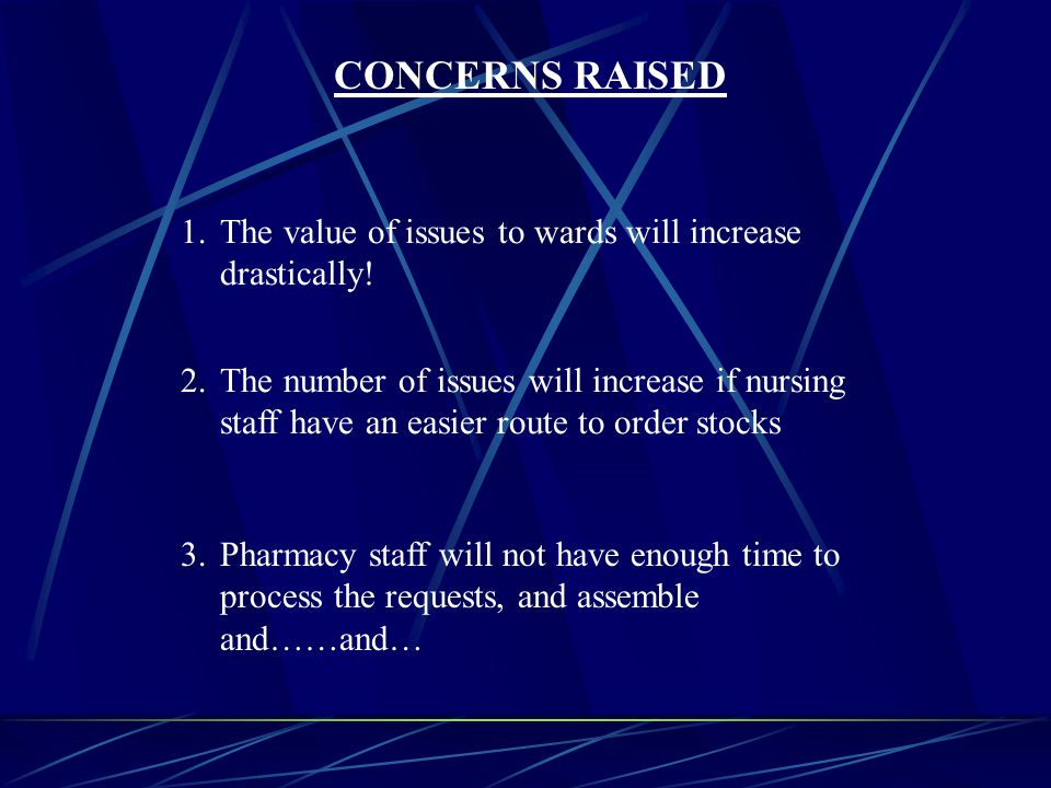 1.The value of issues to wards will increase drastically.