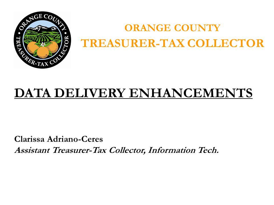 Clarissa Adriano-Ceres Assistant Treasurer-Tax Collector, Information Tech.