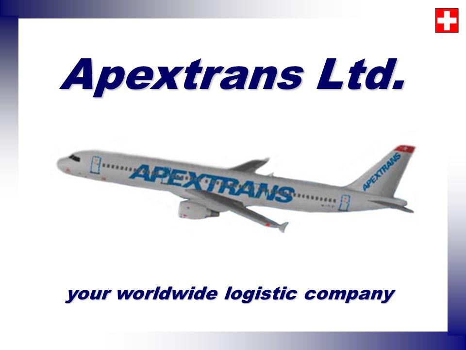 Apextrans Ltd. your worldwide logistic company