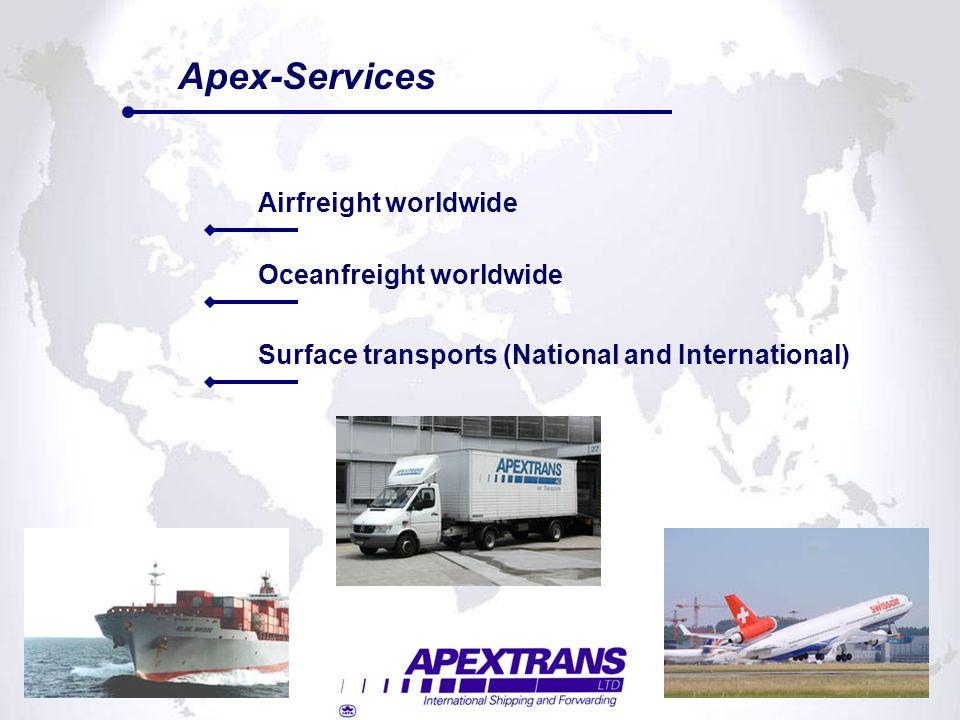 Sales Manager Switzerland Natacha Hoefferlin Sales Manager Switzerland Apextrans Ltd.