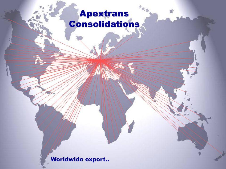 Sales Office China Apextrans Ltd.International Shipping and Forwarding DomicileNo.