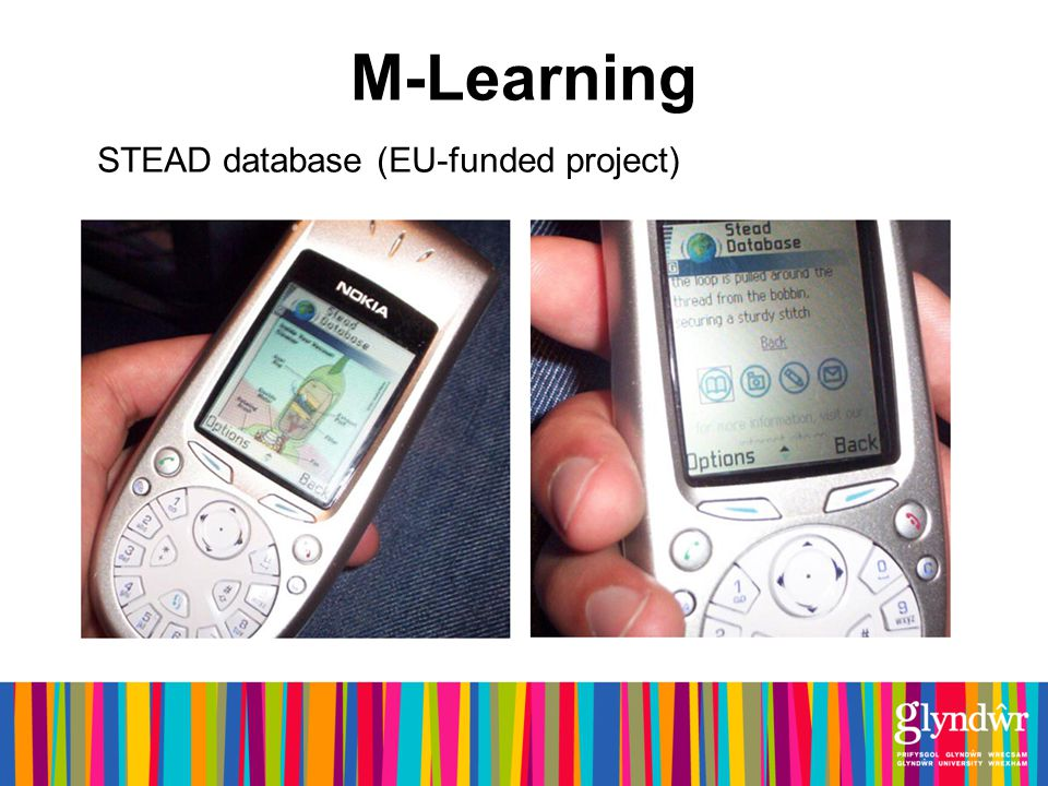 M-Learning STEAD database (EU-funded project)