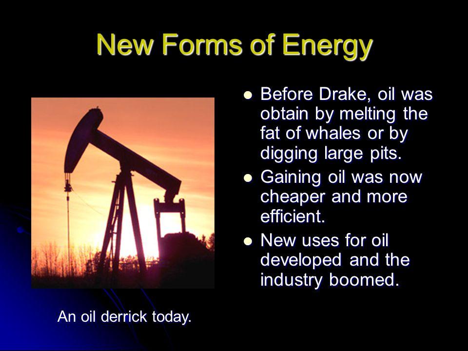 New Forms of Energy Thomas A.Edison Thomas A.